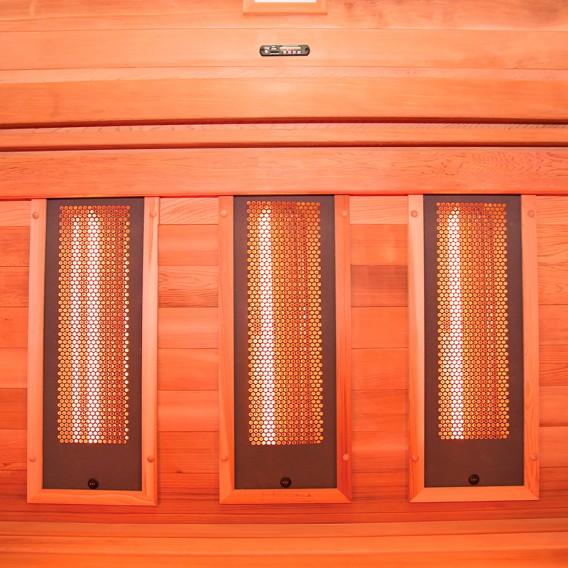 Sauna infrarrojos Multiwave 3 personas