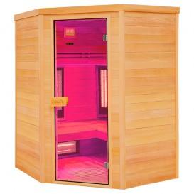 Sauna infrarrojos Multiwave rinconera 3-4 personas
