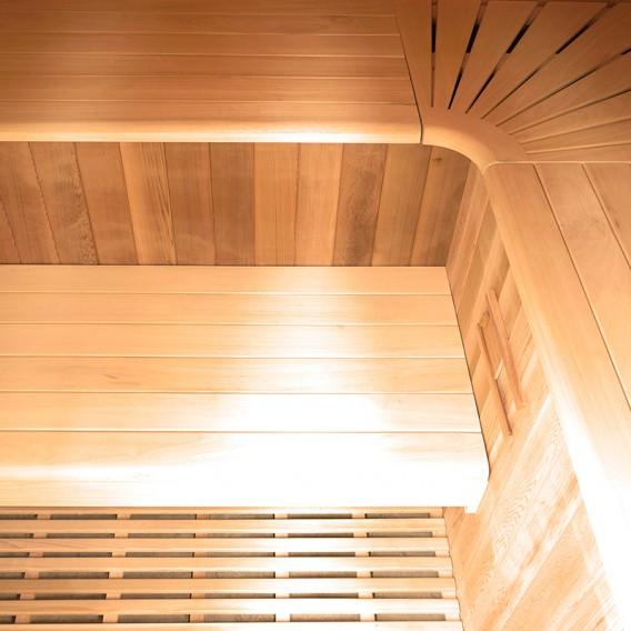 Sauna tradicional de vapor Eccolo 6 personas