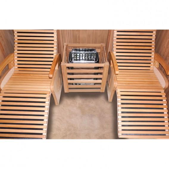 Sauna tradicional de vapor Alto Vap 2 personas