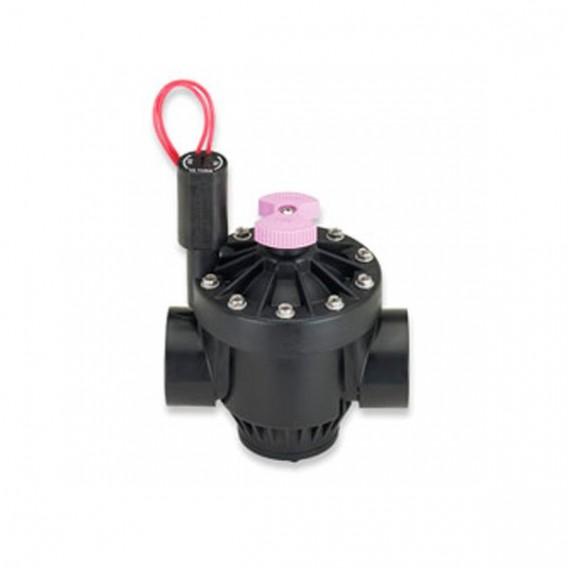 Maneta identificativa agua reciclada electroválvulas Hunter ICV