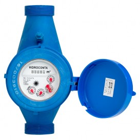 Contador de agua chorro múltiple plástico Hidroconta Hidrojet
