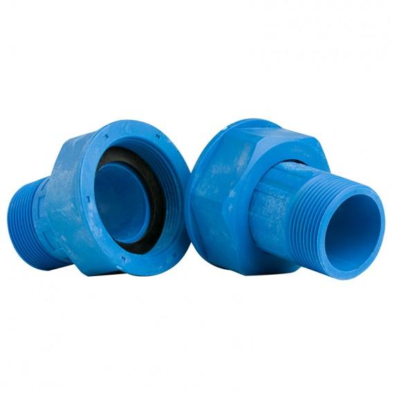 Racores plásticos contador de agua
