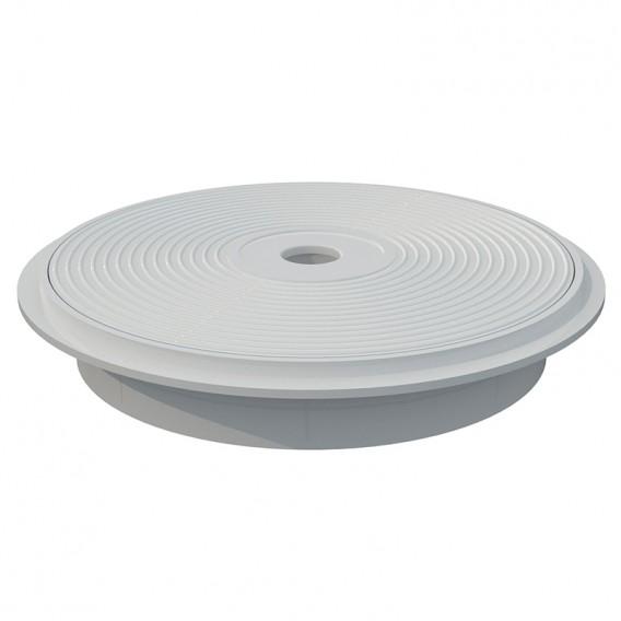 Tapa y aro circular skimmer 15 l AstralPool blanco
