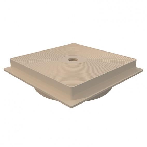 Tapa y marco cuadrado skimmer 15 l AstralPool beige