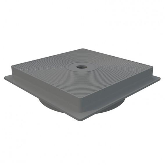 Tapa y marco cuadrado skimmer 15 l AstralPool gris claro