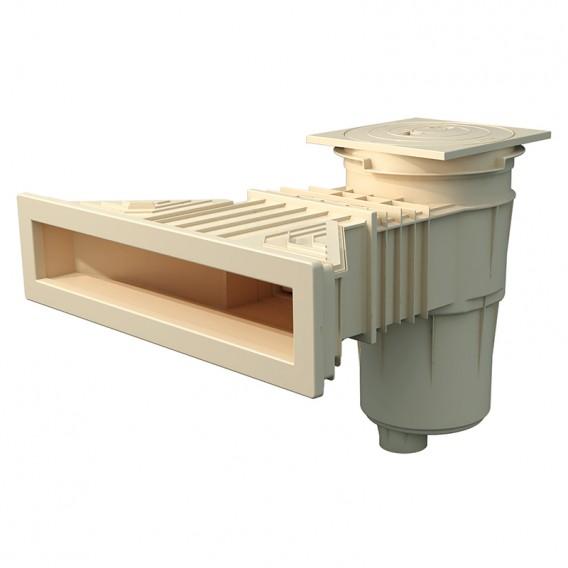Skimmer Norm piscina liner y prefabricada AstralPool beige