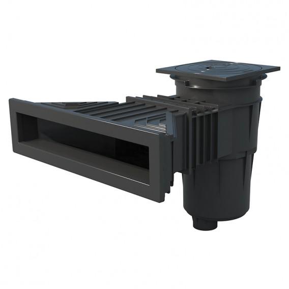 Skimmer Norm piscina liner y prefabricada AstralPool gris antracita