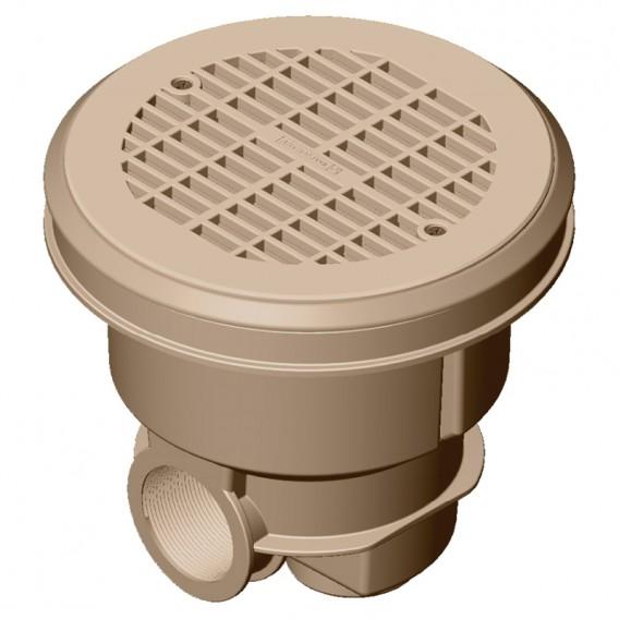 Sumidero Norm ABS rejilla plana piscina liner y prefabricada AstralPool beige