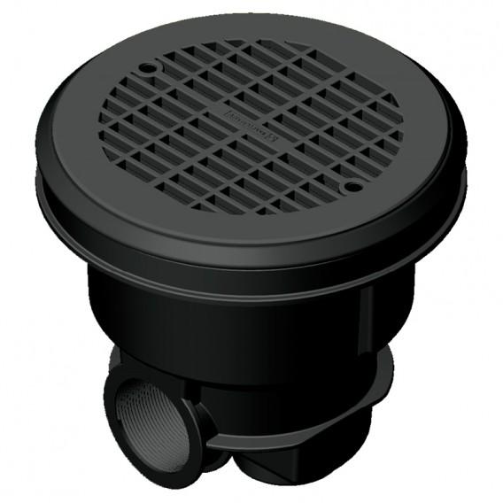 Sumidero Norm ABS rejilla plana piscina liner y prefabricada AstralPool gris antracita