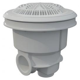 Sumidero Norm ABS rejilla antivortex piscina liner y prefabricada AstralPool blanco