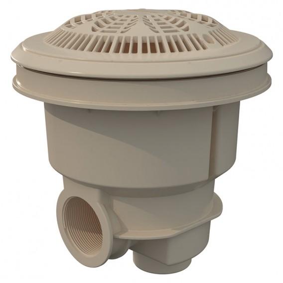 Sumidero Norm ABS rejilla antivortex piscina liner y prefabricada AstralPool beige