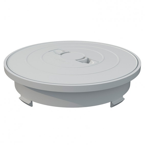 Aro y tapa circular skimmer 17,5 litros AstralPool blanco