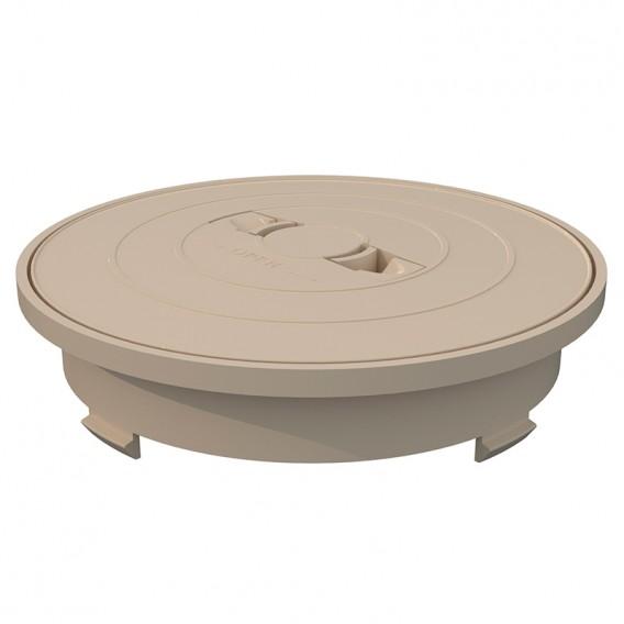 Aro y tapa circular skimmer 17,5 litros AstralPool beige