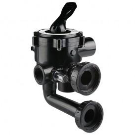 "Válvula selectora 1½"" lateral con enlaces a filtro"