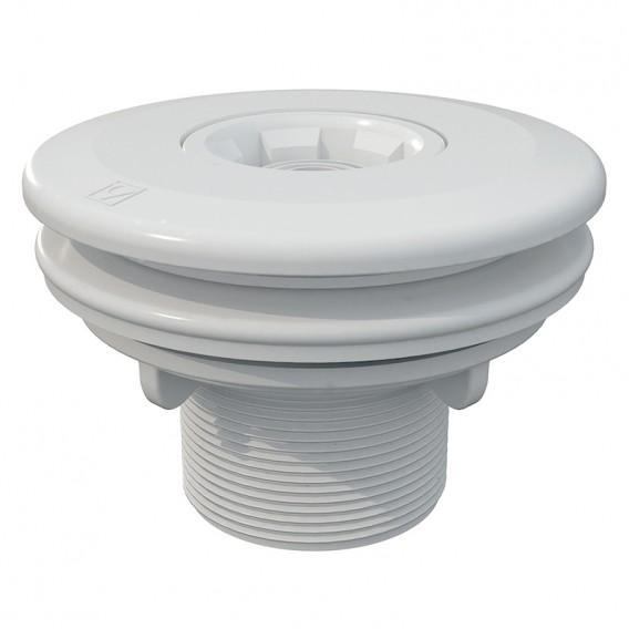 Boquilla de impulsión Multiflow roscar piscinas liner AstralPool blanco