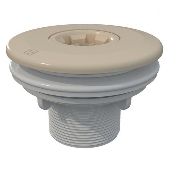 Boquilla de impulsión Multiflow roscar piscinas liner AstralPool beige