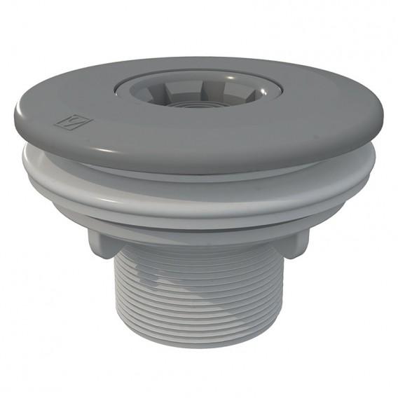 Boquilla de impulsión Multiflow roscar piscinas liner AstralPool gris claro
