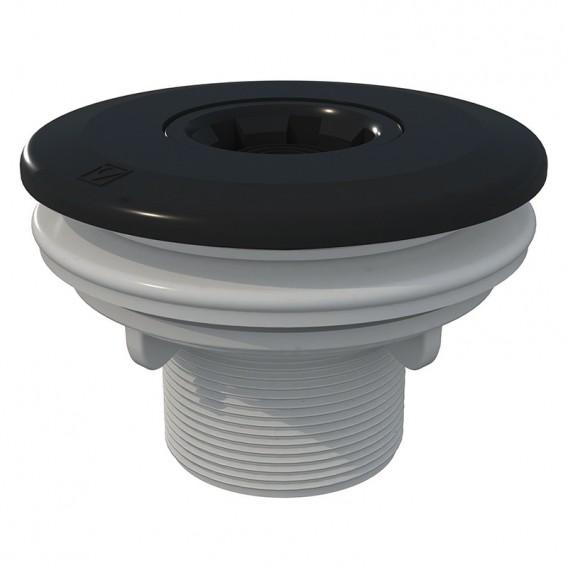 Boquilla de impulsión Multiflow roscar piscinas liner AstralPool gris antracita
