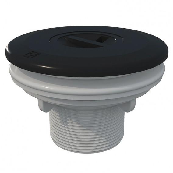 Boquilla aspiración piscina liner AstralPool gris antracita