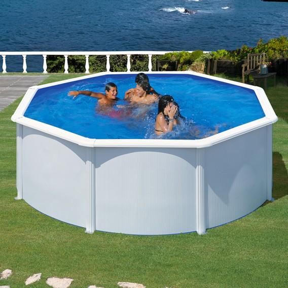 Piscina desmontable Gre Fidji Plus circular KIT350ECOT