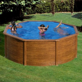 Piscina desmontable Gre Pacific Plus circular KIT350WT