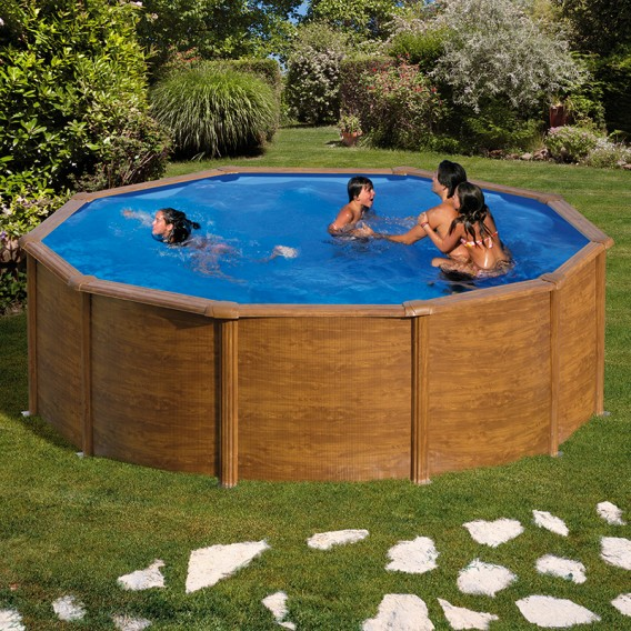 Piscina desmontable Gre Pacific Plus circular KIT460WT