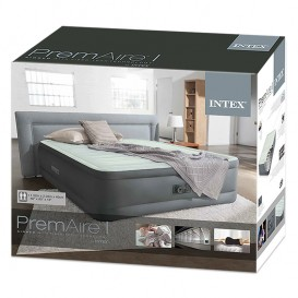 Cama hinchable Intex PremAire doble 64906