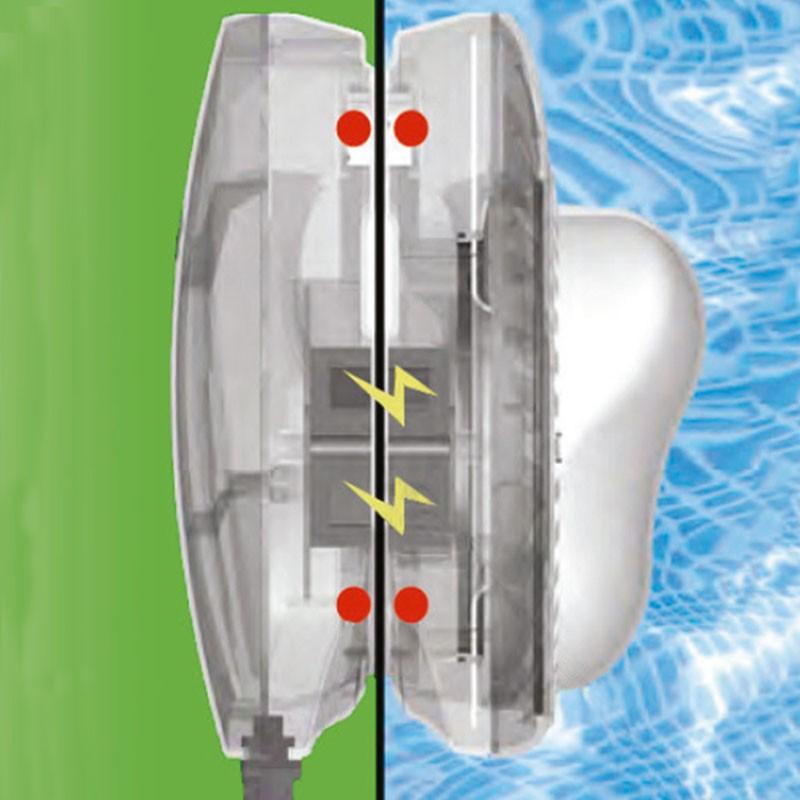 Luz led magn tica intex para piscinas desmontables 28698 for Intex piscinas accesorios