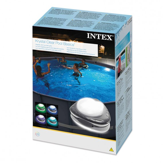 Luz LED magnética Intex para piscinas desmontables 28698