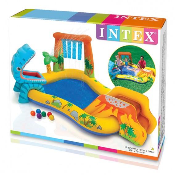 Centro de juegos hinchable Intex Dinosaurio 57444NP