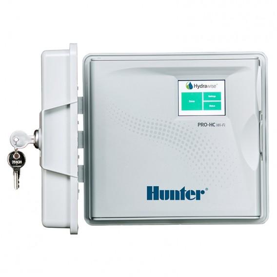Programador Hunter Pro-HC para exterior con Hydrawise