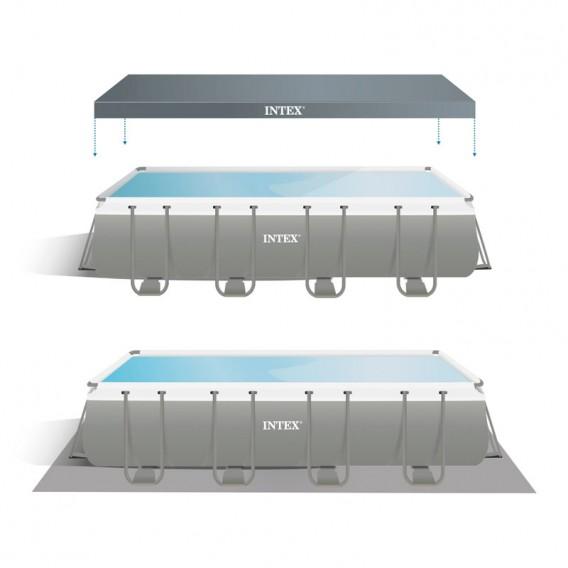 Cobertor y tapiz de suelo piscina Intex Ultra XTR Frame 26356NP