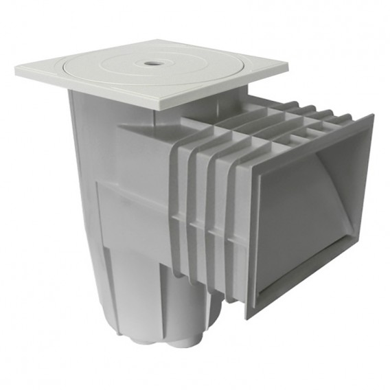 Skimmer tapa cuadrada hormigón AstralPool gris claro