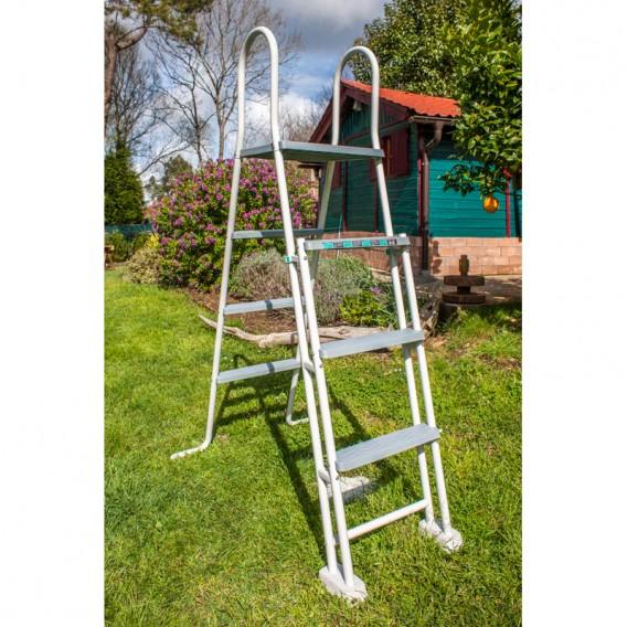 Escalera de seguridad 120-132 cm Gre ES1213