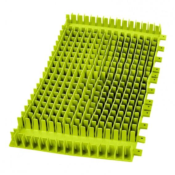Cepillo combinado PVC verde Dolphin sin anillo 6101663