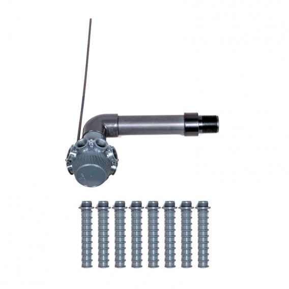 Conjunto colector filtro Millennium Ø560 AstralPool 4404010263