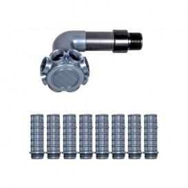 Conjunto colector filtro Aster Ø350 AstralPool 4404010131