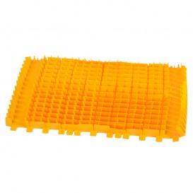 Cepillo combinado amarillo PVC Dolphin sin anillo 6101665