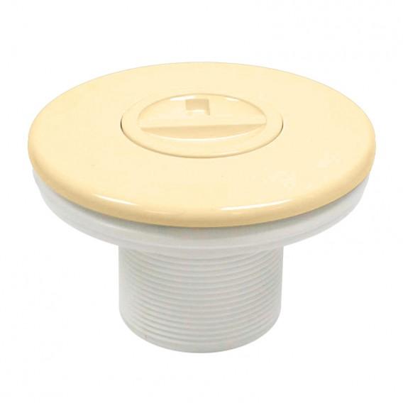 Boquilla aspiración piscinas liner AstralPool beige