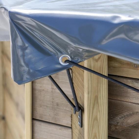 Cubierta invierno Gre Sunbay rectangular 580 g/m²