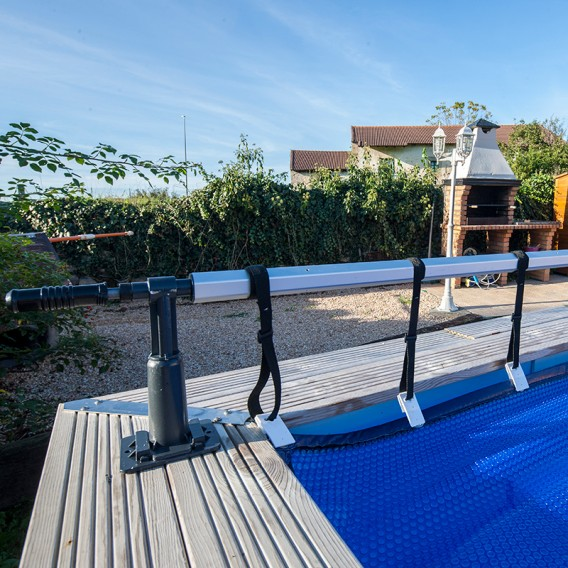 Enrollador piscinas elevadas Basic Gre CRP58