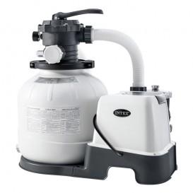 Combo filtro arena y clorador salino Eco Intex 32.200 l 26676