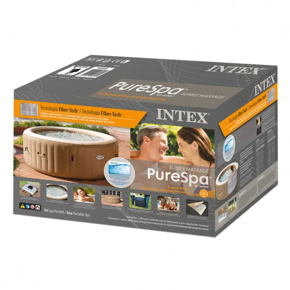 Spa hinchable Intex PureSpa Bubble Massage 28426EX
