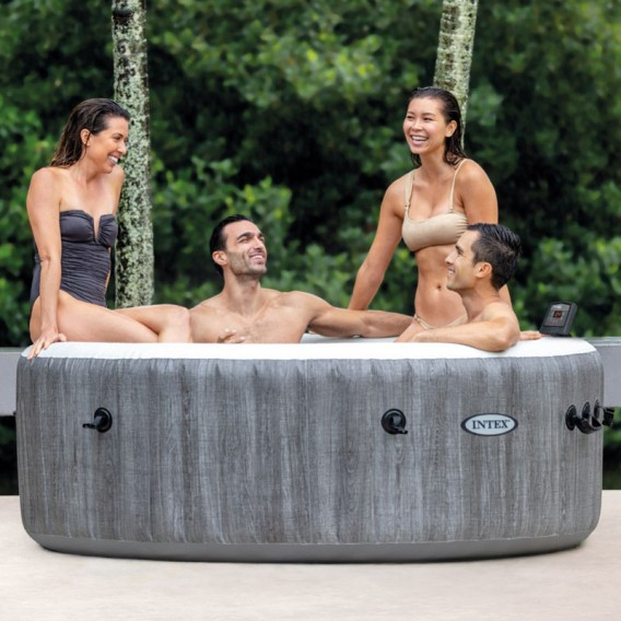 Spa hinchable Intex PureSpa Greywood Deluxe 28440EX