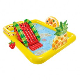 Centro de juegos hinchable Intex Fun 'N Fruity con tobogán 57158NP