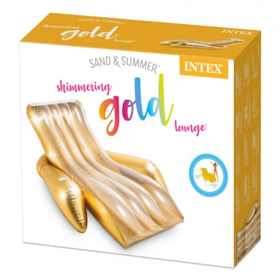 Sillón hinchable Gold Lounge Intex 56803EU