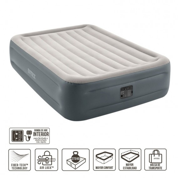 Cama hinchable Intex Essential Rest doble 64126NP