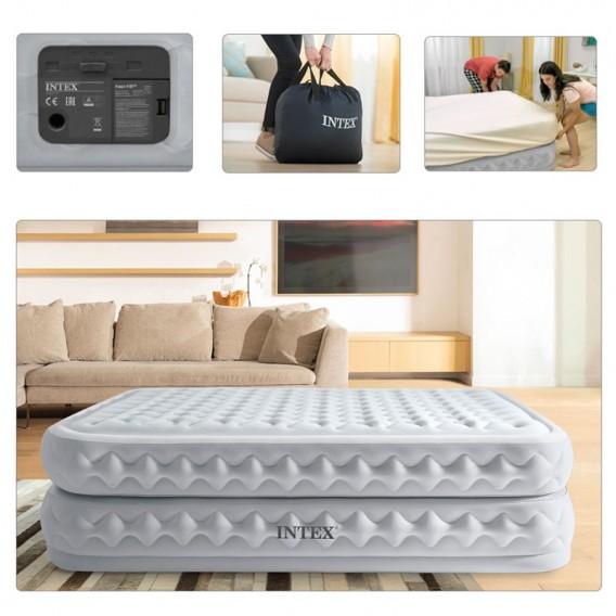 Cama hinchable Intex Supreme Air-Flow Bed doble 64490NP