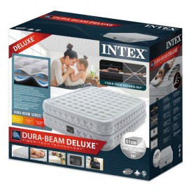 Cama hinchable Intex Supreme Air-Flow Bed doble 64490NP